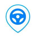 Drop Car logo icon