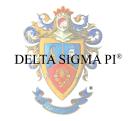 Delta Sigma Pi logo icon