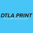 Dtla Print logo icon