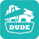 Dude I Need A Truck logo icon
