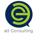 e3 Consulting - evolve . execute . excel logo