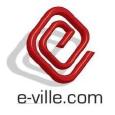 E-ville.com Logo