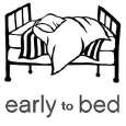 Early to Bed Logo