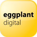 Eggplant Digital logo icon
