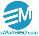 eMath360.com logo