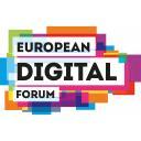 European Digital Forum logo icon