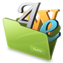 Everything Fonts logo icon