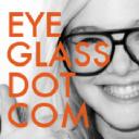 Eyeglass logo icon