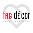 Fab Decor Rentals & Events Logo