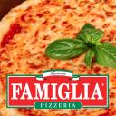 ‹ Famous Famiglia logo icon