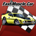 Fast Muscle Car logo icon