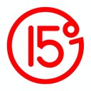 Fifteen Degrees logo icon