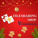 File Sharing Shop logo icon