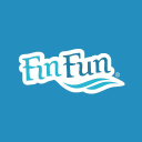 Fin Fun Mermaid logo icon