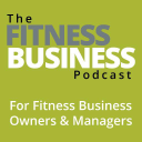 The Fitness Business Podcast logo icon