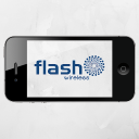 Flash Wireless logo icon