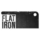 Flat Iron Steak logo icon