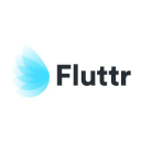 Fluttr logo icon