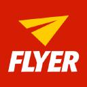 Flyer logo icon