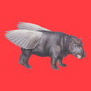 Flying Hippo logo icon
