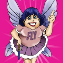 Fly Lady logo icon