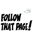 Follow That Page logo icon
