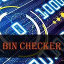 Free Bin Checker logo icon