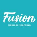 Fusion Medical Staffing Company Logo