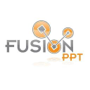 Fusion Ppt logo icon