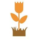 Gardening Naturally logo icon