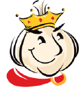 Garlic King logo icon