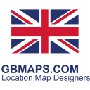 Gb Maps logo icon