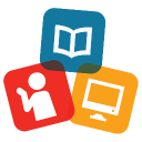 Gloucester County Library System logo icon