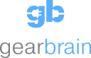 Gear Brain logo icon