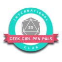 Geek Girl Pen Pals logo icon