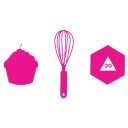 The Geeky Hostess logo icon