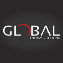 – Global Energy & Lighting logo icon