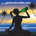 Get Drunk Not Fat logo icon