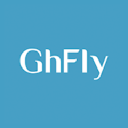 Gh Fly logo icon