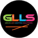 Green Led Lighting Solutions logo icon