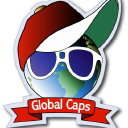 Global Caps logo icon