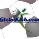 Globe Kick logo icon