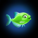 Glo Fish® logo icon