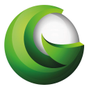 Go Green logo icon