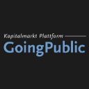 Going Public logo icon