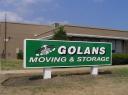 Golan's Moving and Storage logo