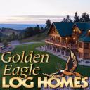 Golden Eagle Log Homes logo icon