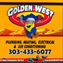 Golden West Plumbing logo icon