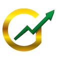 Gold Stock Bull logo icon