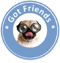 Gotfriends logo icon